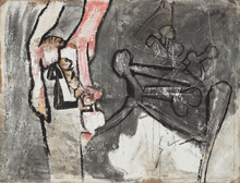Roberto MATTA - Peinture - Untitled
