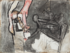 Roberto MATTA - Pintura - Untitled
