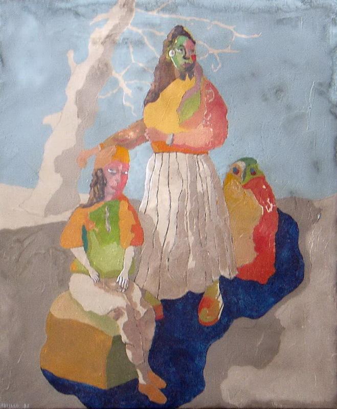 Jorge CASTILLO - Pintura - maternidad