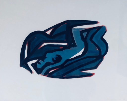 Tom WESSELMANN - Druckgrafik-Multiple - Blue Nude #5