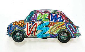 David GERSTEIN - Sculpture-Volume - Fiat 500