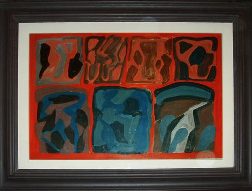 Pietro CONSAGRA - Painting - senza titolo