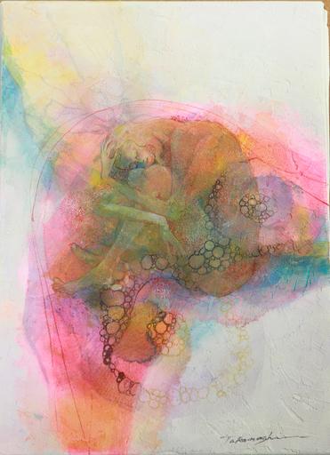 Miyuki TAKANASHI - Gemälde - Holding Knee