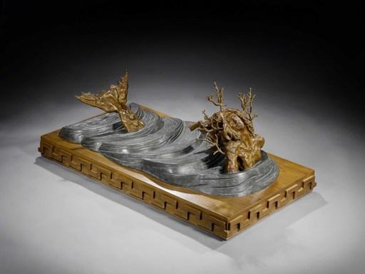 Salvador DALI - Sculpture-Volume - Dios Solar Emergiendo de Okinawa
