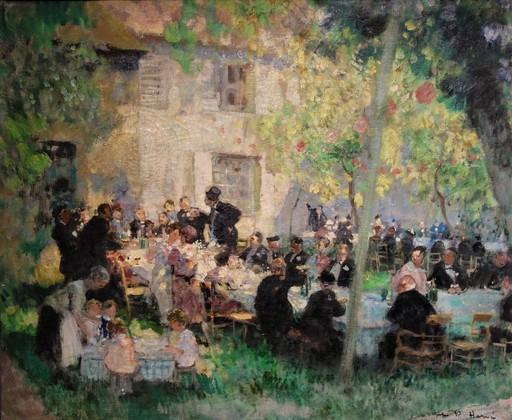 Jules René HERVÉ - Peinture - Banquet de noces