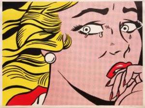 Roy LICHTENSTEIN, Crying Girl