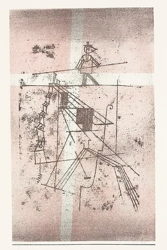 Paul KLEE - Druckgrafik-Multiple - Seiltänzer