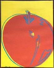Andy WARHOL - Painting - Apple