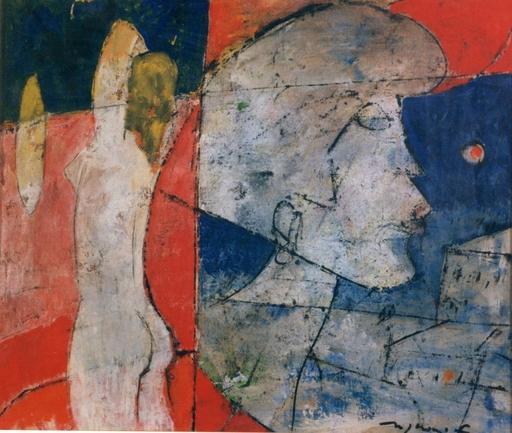 Franco ROGNONI - Painting - Interno Esterno