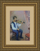 Levan URUSHADZE - Painting - Violinist