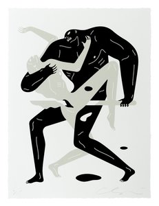 Cleon PETERSON - Estampe-Multiple - Between The Sun And Moon I (White)