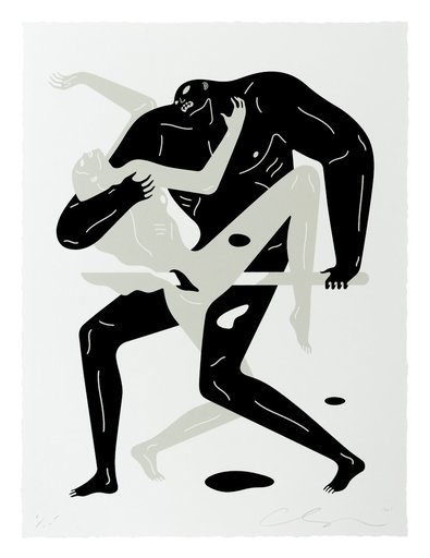 Cleon PETERSON - Stampa-Multiplo - Between The Sun And Moon I (White)
