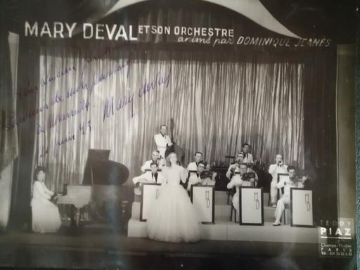 Teddy PIAZ - Fotografia - Mary Deval et son orchestre