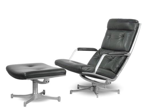 Preben FABRICIUS - Lounge Chair FK 85, Kill International