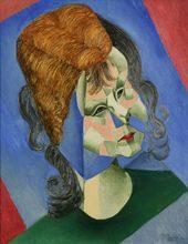 Jean METZINGER - Painting - Odette, Fille de l'Artiste