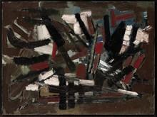 尼古拉•德•斯塔 - 绘画 - Composition 1947