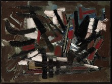 Nicolas DE STAËL - Painting - Composition 1947