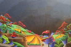 Steven KLUCHIK - Painting - The new world