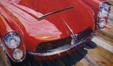 Alex BALAGUER - Peinture - Pegaso Z-102 Spiders Serra