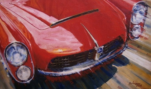 Alex BALAGUER - Pintura - Pegaso Z-102 Spiders Serra
