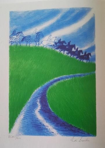 安德烈·布拉吉利 - 版画 - NATURA NOSTRA (1990)  CR 221