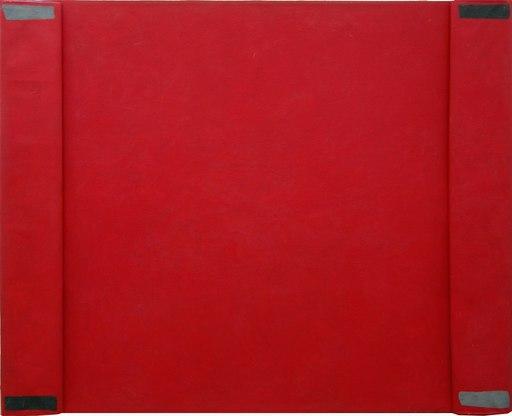 Cesare BERLINGERI - Painting - Piegando il rosso