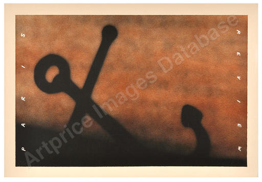 Ed RUSCHA - Estampe-Multiple - anchor in the sand