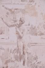 John Singer SARGENT - Dibujo Acuarela - No Title
