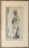 Byron George BROWNE - Peinture - Figure Study