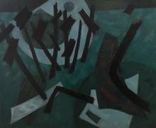 Henri GOETZ - Pittura - Composition, 1964