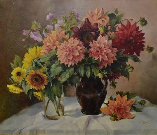 Hermine ROHACS - Painting - Blumenstillleben