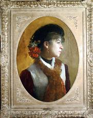 Francesco Paolo MICHETTI - Painting - Rosella