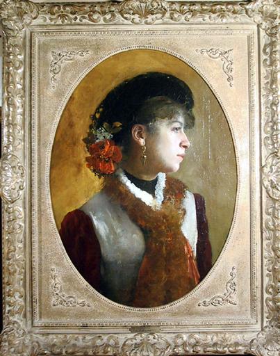 Francesco Paolo MICHETTI - Peinture - Rosella