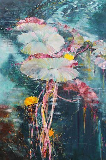 Nadine PILLON - Painting - Les Flotteuses