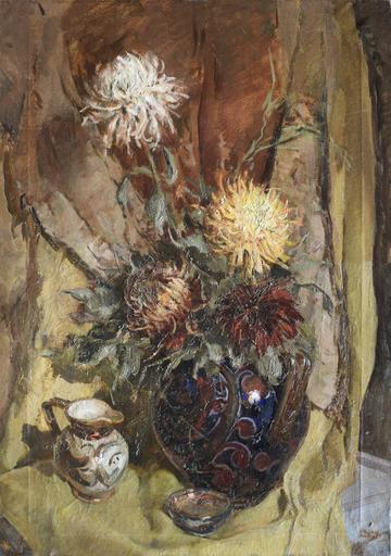 Mario VELLANI MARCHI - Painting - Vaso di fiori
