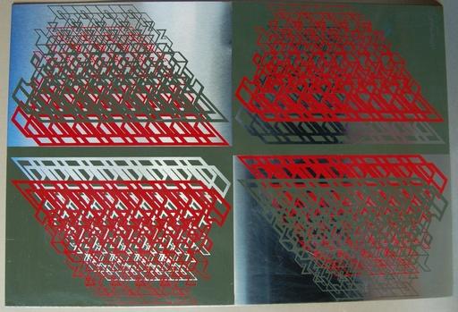 Michel DEVERNE - Sculpture-Volume - composition cinétique