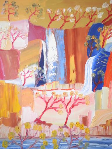 Thierry DEROYANT - Peinture - Les Chutes d'Eau