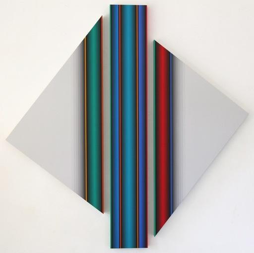 Dario PEREZ FLORES - Pintura - DYNAMIQUE CHROMATIQUE 571