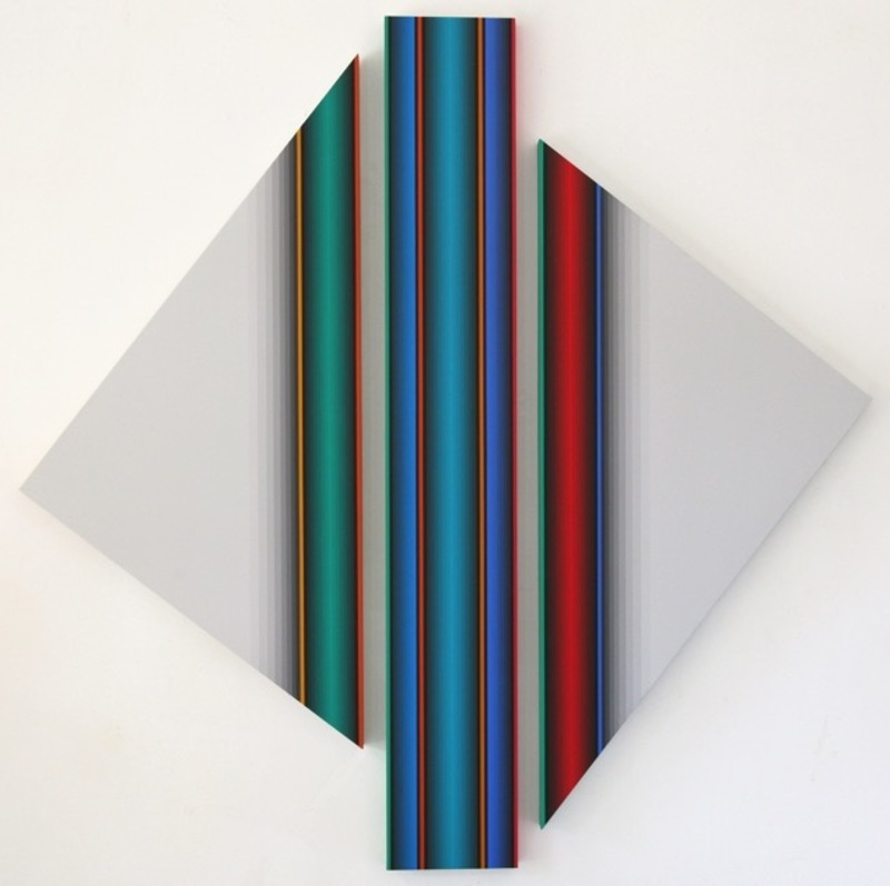 Dario PEREZ FLORES - Peinture - DYNAMIQUE CHROMATIQUE 571
