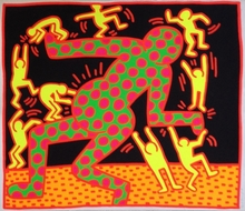 Keith HARING (1958-1990) - Fertilty #3