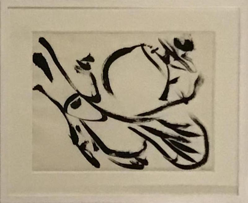 Christian DOTREMONT - Dessin-Aquarelle - Logograme