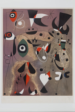 Joan MIRO (1893-1983) - Woman, Birds, Star