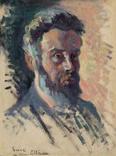 马克西米·卢斯 - 绘画 - Autoportrait