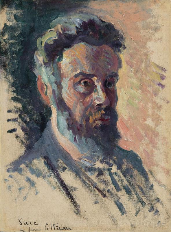 Maximilien LUCE - Painting - Autoportrait