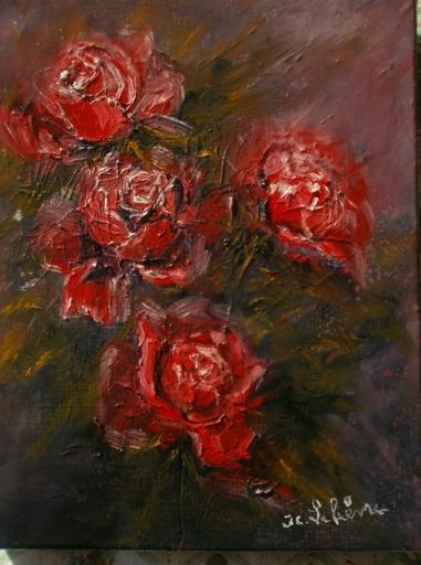 Jean-Claude LELIEVRE - Peinture - les roses