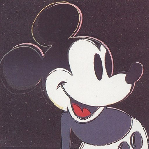 Andy WARHOL - Stampa-Multiplo - Mickey Mouse