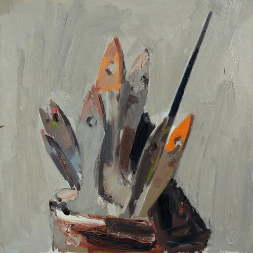 Vladimir SEMENSKIY - Pintura - Brushes