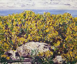 Francisco LOZANO SANCHIS - Gemälde - Arenal mediterráneo