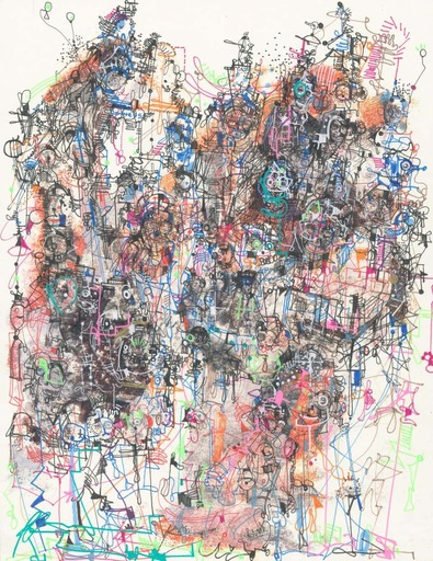 Michael ALAN - Drawing-Watercolor - Systematic Language Enhanced Culture