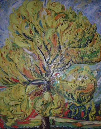 """Luciano DIAZ CASTILLA - Painting - """" arbol"""""""
